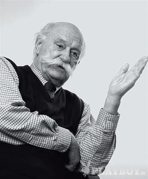 V 98. letu starosti je umrl Janez Stanovnik (foto: Bor Dobrin)