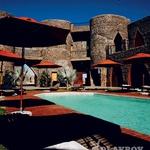 Privid stedi puščave: grofov dvorec Le Mirage. (foto: Aleš Bravničar)