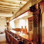 Džin, tonik in nasmešek - dvorec Le Mirage. (foto: Aleš Bravničar)