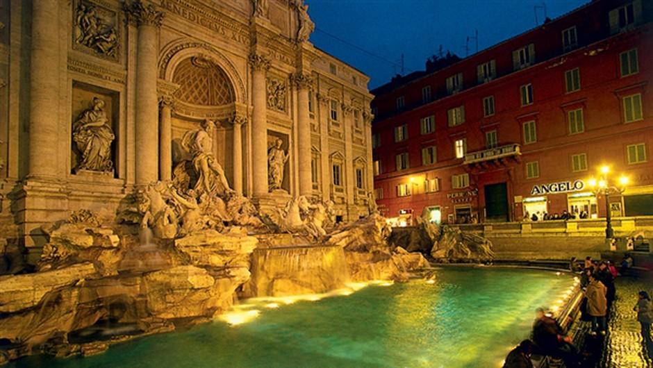 48 ur v Rimu: Pomlajeno večno mesto (foto: ?)