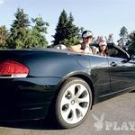 Zmagovalca sta se odpeljala z BMW-jevim kabrioletom serije 6. Na žalost ne za vedno … Tudi dekleti nista bili del nagrade. Škoda.  (foto: Bor Dobrin)