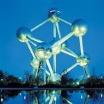 "Atomium, rahlo zarjavela ""znamenitost"" Bruslja. (foto: Buenos Dias)"