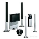 Televizija beovision avant, glasbeni sistem beosound 3000, zvočniki beolab 1, beolab 2, beolab 6000. Vse naprave v sistemu je mogoče upravljati z enim samim daljinskim upravljalnikom beo 4. (foto: PR)