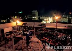 Žareči užitki na mali terasi