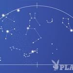 Videz večernega zvezdnega neba sredi julija z značilnimi ozvezdji in glavnimi zvezdami v njih. Nad glavo sije najsvetlejša zvezda poletnega neba, bleščeča Vega v ozvezdju Lire. Levo spodaj leži svetla zvezda Deneb v Labodu, pod njima pa Atair v ozvezdju Orla. Te tri zvezde sestavljajo znameniti poletni nebesni trikotnik, ki bo še nekaj mesecev krasil večerno zvezdno nebo. Na jugu pa sveti nizko ob obzorju zvezda Antares v ozvezdju Škorpijona. Ta zvezda je skoraj 500-krat svetlejša od Sonca! (foto: Goya)