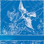 Ozvezdje Labod (zgoraj) in ozvezdje Škorpijon (spodaj), prikazana v starem zvezdnem atlasu. (foto: Goya)