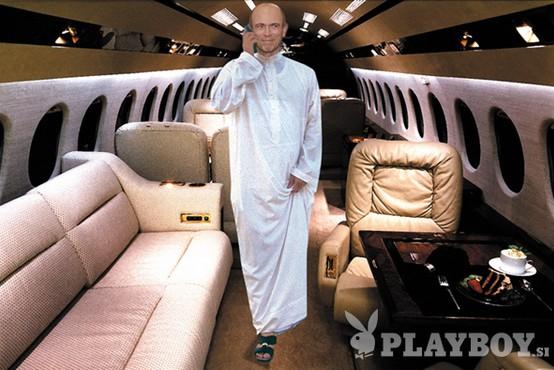 Drnovšek bo letal kot arabski šejk!
