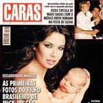 Luciana Morad z novorojenčkom Lucasom, sinom Micka Jaggerja. (foto: *)