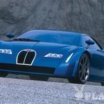 EB 18/3 Chiron. Louis Chiron, eden najuspešnejših Bugattijevih dirkačev v dvajsetih in tridesetih letih, je leta 1999 na frankfurtskem avtomobilskem salonu dobil svojo študijo športnega avtomobila. In to s pravo redkostjo – s sredinskim motorjem. Iz modela EB 18/3 Chiron so razvili zdaj že nestrpno pričakovanega veyrona. Dirkača je zamenjal dirkač. (foto: PR)
