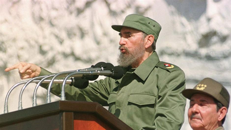 """El commandante Fidel Castro: """"ZDA zastopajo najbolj reakcionarne ideje na svetu"""" (foto: *)"""