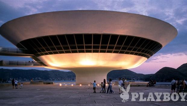 Muzej sodobne umetnosti, Niteroi, 1996  (foto: Roemer van Toorn, fotoarhiv Oscar Niemeyer Foundation)