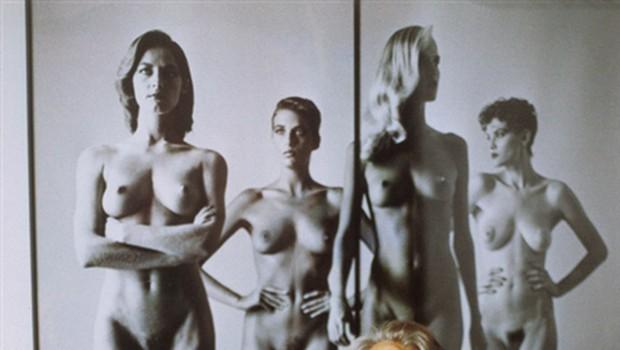 Helmut Newton – poklicni voajer (foto: PR)