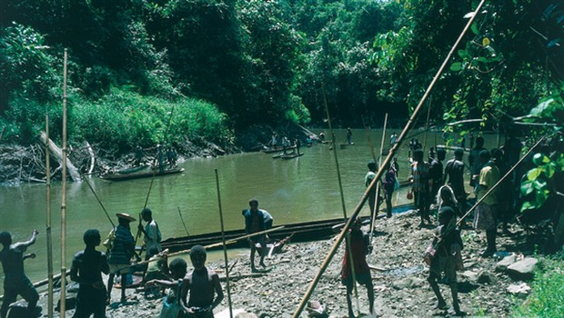 Lovci na prvo kri (foto: Borut Telban)