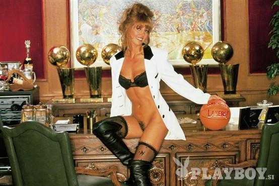 Prva dama Lakersov