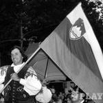 Atentat: Ivan Kramberger, prva politična žrtev (1992) // foto: Borut Krajnc (foto: Borut Kranjc)