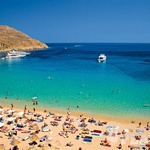 Paradise Beach, Mikonos, Grčija (foto: *)