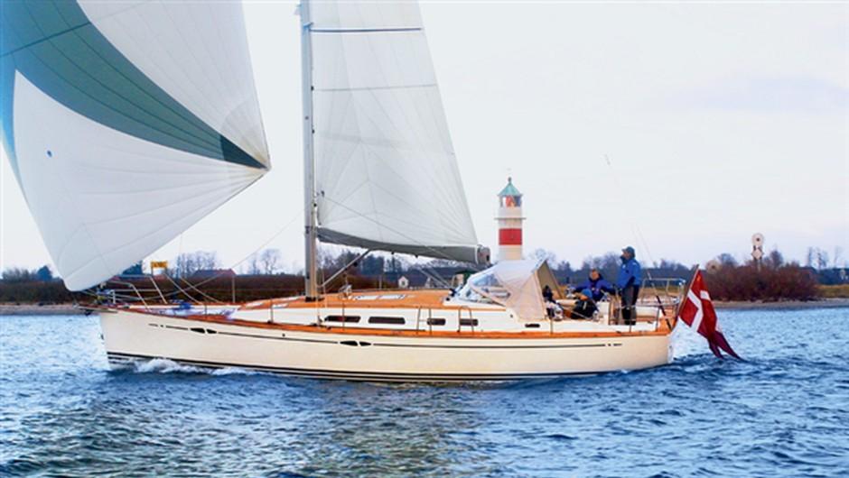 Xc 42, druga 'cruising' iksica, za tiste ki veliko potujejo po odprtih morjih. www.x-yachts.com (foto: PR)