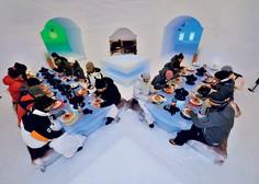 Ice camp: Mraz kot užitek in prestiž