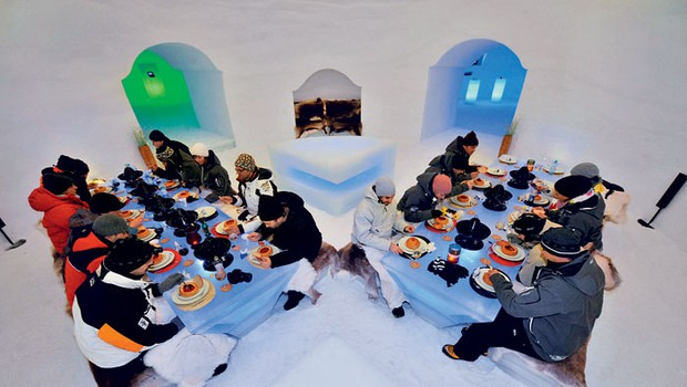 Ice camp: Mraz kot užitek in prestiž (foto: Volvo)