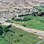 Pogled iz ameriškega vojaškega helikopterja (foto: Osebni arhiv)