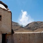 Minometni napad v kandaharski provinci (foto: Osebni arhiv)