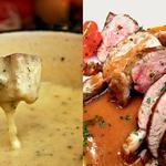 Medtem ko je namakanje kruha v sirnato čorbo (fondue) in praskanje topljenega sira na krompir (raclette) skoraj tako priznani švicarski izum kot Victorinoxov žepni nožič ali Heidi, se utrujenemu alpskemu vandrovcu, do grla sitemu röstija, običajno priležejo novi izzivi. Te boste najverjetneje našli v kantonu Ticino, kjer vodo na usta vabijo 'uvožene' narodne jedi, kot so sočno jagnje z meto ali pa dušeno s cimetom v rdečem vinu (capretto mesolcina). Zraven se prileže odličen lokalni merlot. (foto: Aleš Bravničar)