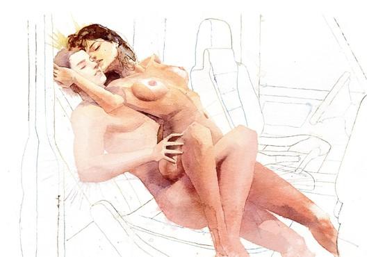 Najprimernejši položaji za hiter seks v uricah, ko ni časa, da bi stekli do stanovanja