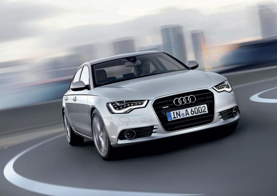 Audi A6, ker ne bode toliko v oči kot Audi A8 (foto: Audi)