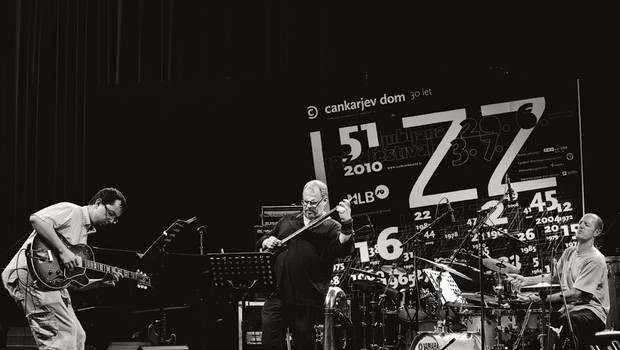 Samo Šalamon/Samo Šalamon Trio, 51. Jazz Festival Ljubljana (foto: Petra Cvelbar)