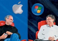 Vzpon tehnogigantov Apple in Microsoft