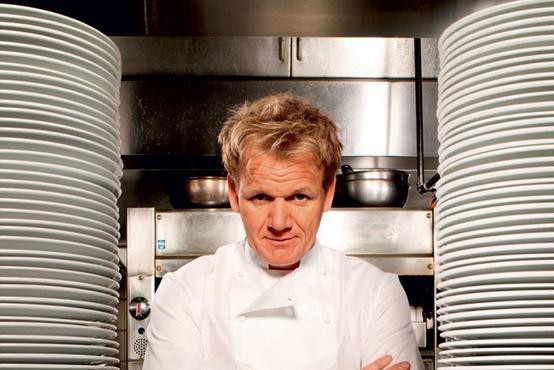 """Gordon Ramsay: """"Sem največja sebična rit na svetu."""""""
