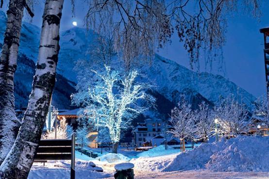 Francosko smučarsko središče Chamonix