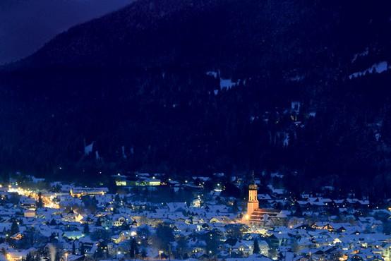 Nemško smučarsko središče Garmisch-Partenkirchen