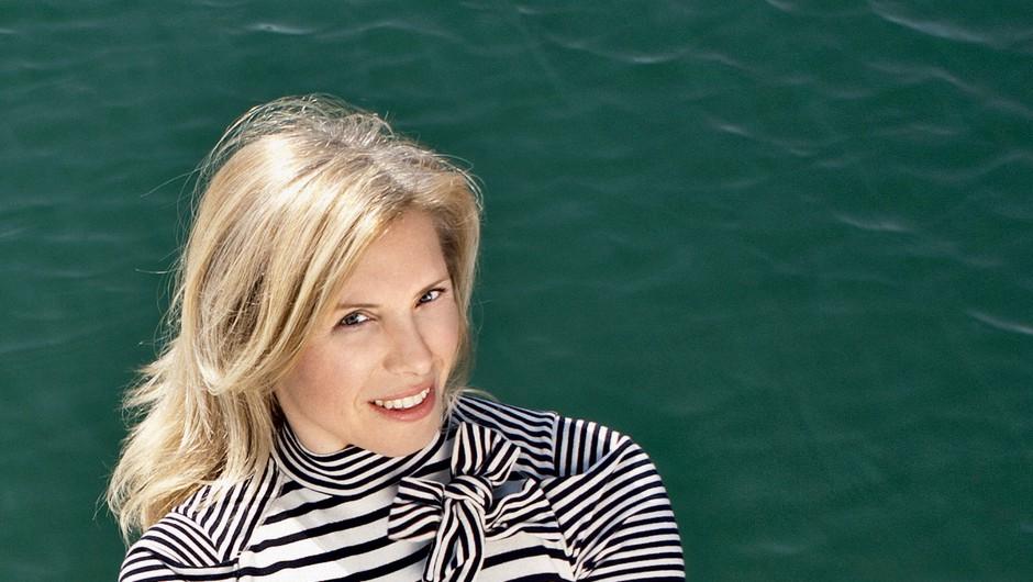 Jakica Jesih: Blondinka na odprtem morju (foto: Ivana Krešić)