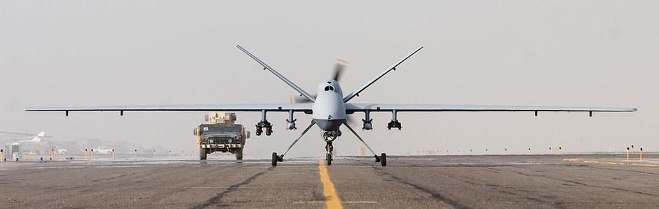 Lovski ubijalci: brez pilotov, nevidni za radarje in bombe lahko odvržejo kjerkoli (foto: United States Air Force photo / vir: Wikipedia)