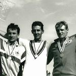 Bogdan Fink je na mladinskem svetovnem prvenstvu v Angliji zasedel tretje mesto v cestni vožnji. (foto: osebni arhiv)