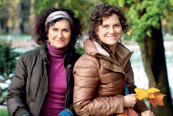 """Anemari Laureni in Kaja Gasparini: """"V ustvarjanju se dopolnjujejeva!"""""""