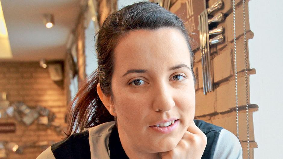 Julijana Krapež se najbolje počuti v kuhinji (foto: Goran Antley)