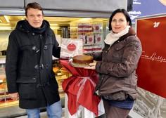 Eva Strohmaier Ocvirk in Marjan Nemanič: Če ima Dunaj svojo torto, zakaj je ne bi imela tudi Ljubljana