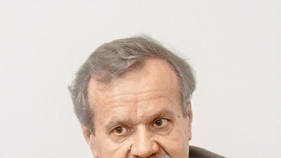 Rektor Stanislav Pejovnik o krizi na univerzi (foto: Goran Antley)