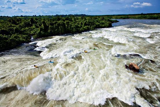 Kongo: S kajaki čez največje brzice na svetu