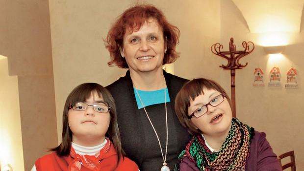 Dan Downovega sindroma z Valerijo Bužan: Obstaja drugi svet, ki nas zelo bogati (foto: Goran Antley)