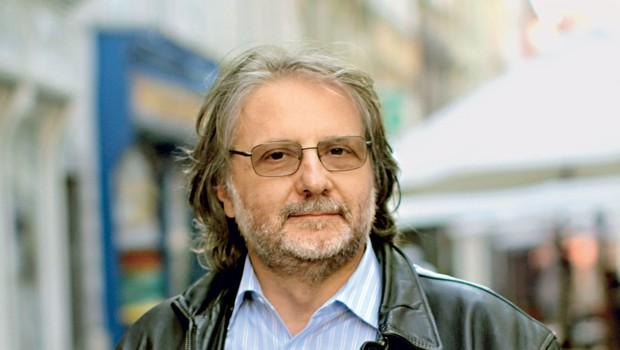 """Pisatelj in režiser Vinko Möderndorfer: """"Pred prvo vajo imam vedno blazno tremo!"""" (foto: Goran Antley)"""
