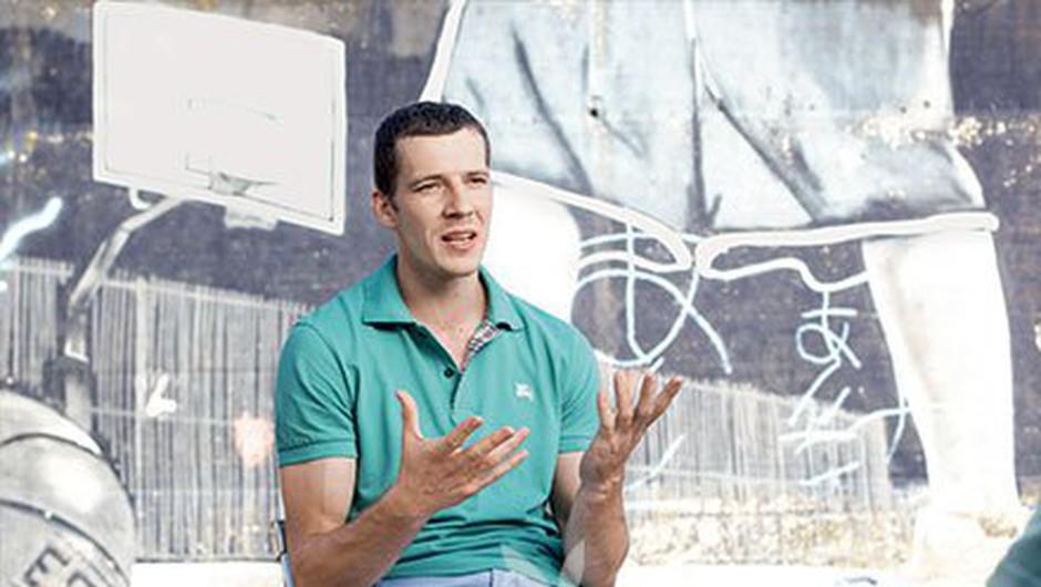 Goran Dragić: Med igranjem v Španiji sem se navdušil nad sproščenim načinom življenja (foto: Bor Dobrin)
