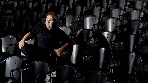 Direktor Festivala Ljubljana Darko Brlek: Osnova vsake zgodbe je vendarle program (foto: Bor Dobrin)