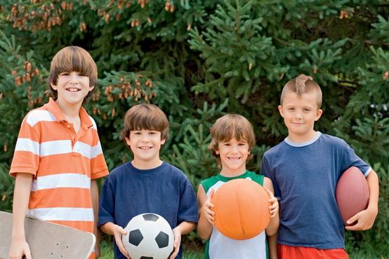 Otroci in šport - treba se je naučiti zmagovati, še bolj pa izgubiti in se znova pobrati