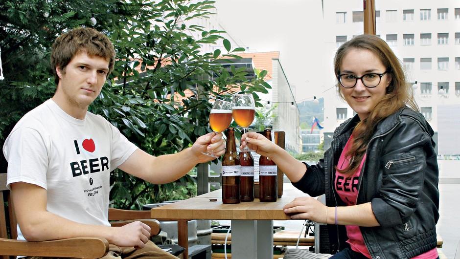 Pivo Pelicon - novo slovensko pivo (foto: Aleš Pavletič)