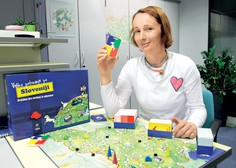 Maja Ogrizek o učenju skozi zabavo: Z družabno igro spoznajmo Slovenijo