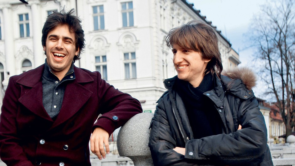 Intervju: Kitarista Mak Grgić in Nejc Kuhar (foto: Goran Antley)