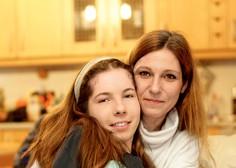 Neja Zrimšek Žiger se je rodila brez obeh rok, a je danes pri 15 letih povsem samostojna tipična najstnica